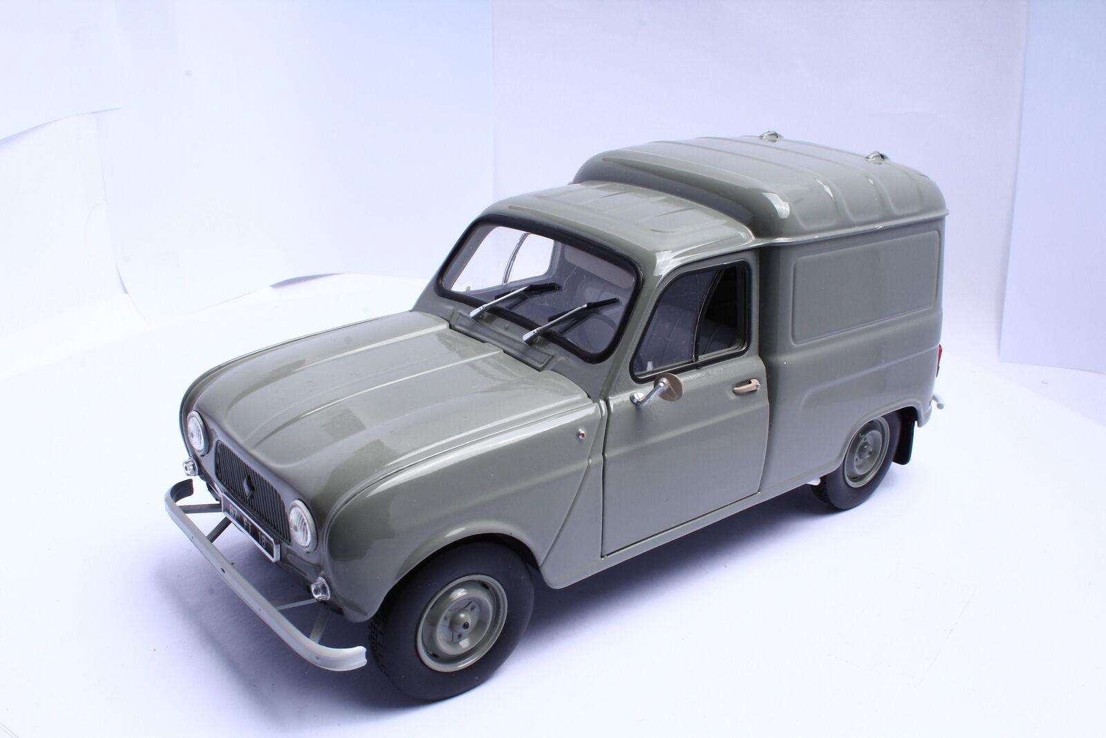 NOREV  Renault 4 Fourgonnette grey 1 18