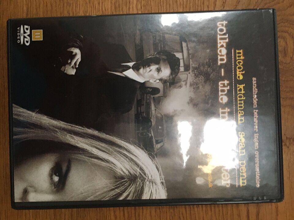 Tolken, DVD, thriller