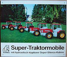 Altes Blechschild Oldtimer Traktor Schlüter Schlepper  Reklame Werbung used
