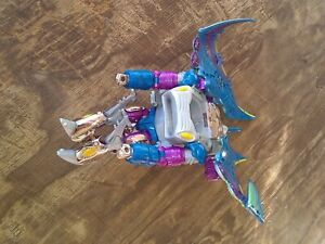 Transformers Beast Wars Depth Charge transmetals Stingray incomplet Figure