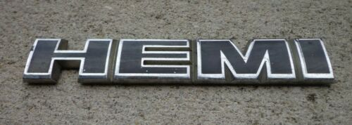 Dodge Hemi emblem badge decal logo symbol 1500 Charger OEM Factory Genuine Stock