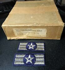 b1222p Korean War Era US Army Corporal Chevrons pair R1C