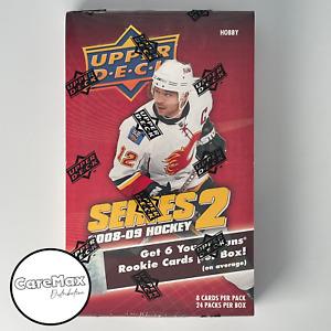 2008-09 Upper Deck Series 2 Hockey Hobby Box - FACTORY SEALED