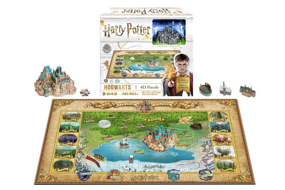 4D cittàscape Elj - Hogwarts Mini  Puzzle 500 Pezzi - Nuovo   Conf. Orig.  migliori prezzi e stili più freschi