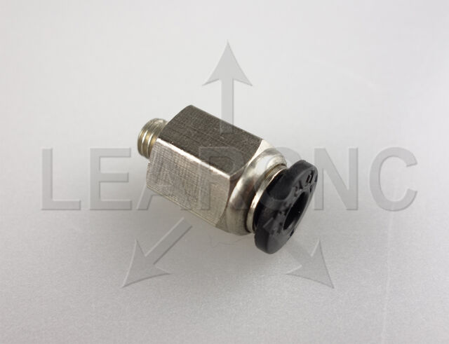 LearCNC - PTFE Tube Push Fit Connector - RepRap Kossel Extruder Bowden RAMPS