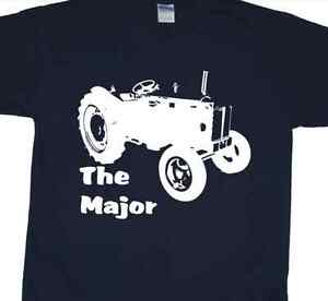 Fordson-Major-Classic-Tractor-T-Shirt-Ford-Vintage-Farm-Classic