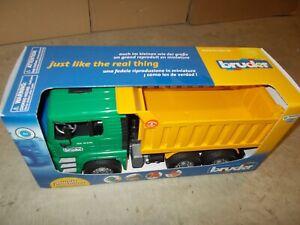 Bruder Toys MAN Dump Truck NEW Cargo Bed Construction / 02765