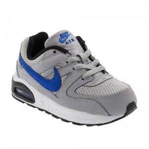 Dettagli su Nike Air Max Command Flex (TD) Scarpe Junior GreyBlueBlack 844348 007