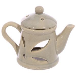 Brown-Teapot-Wax-Warmer-Burner-amp-10-Handpoured-Scented-Melts