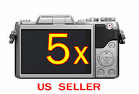 5x Clear Lcd Screen Protector Guard Cover Film For Panasonic Lumix Dmc-gf8