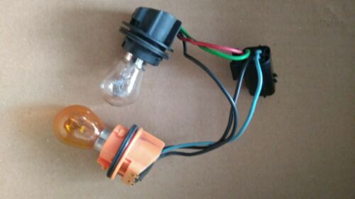 Land rover Freelander 1 lower rear light bulb holder 98-04 Red Clear wiring