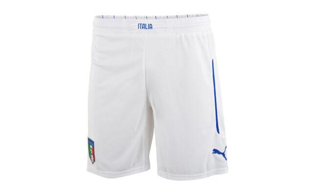negozio online e0310 7cb81 Puma Pantaloni corti Uomo FIGC Italia Home/away Replica Bianco (white/home)  L