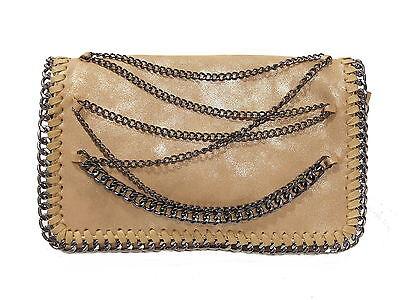 Design Handtasche Schultertasche IN-Bag Tasche wahlweise Schwarz oder Gold, NEU