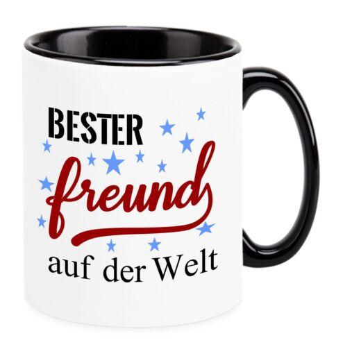 """Tasse /""""Bester FREUND auf der Welt/"""" Lustige Sprüche Geschenk"""