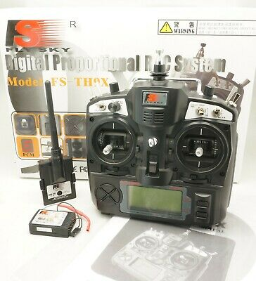 Flysky 2 4GHz FS-TH9X Transmitter with Module FS-TM002 and