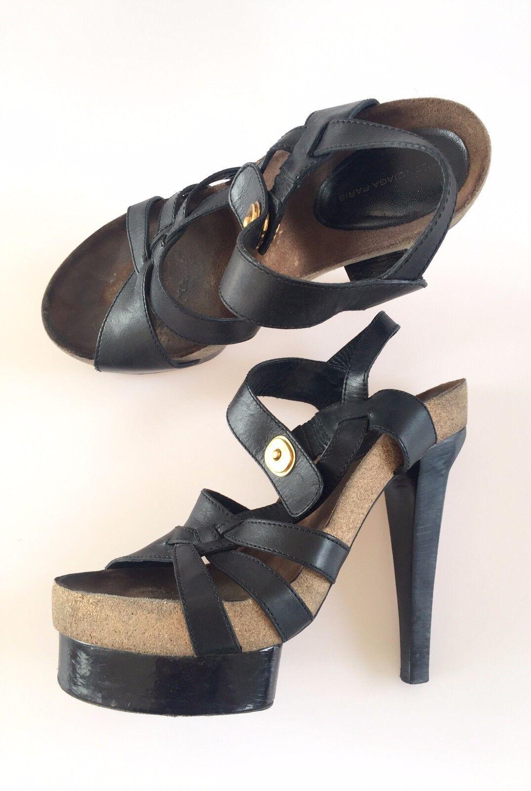 Balenciaga Ghesquiere Cork Gladiatore 40 highheel SZ scarpe Platform SZ highheel   c1b693