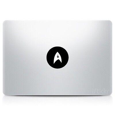 Star Trek Federation small vinyl sticker for Apple MacBook laptops