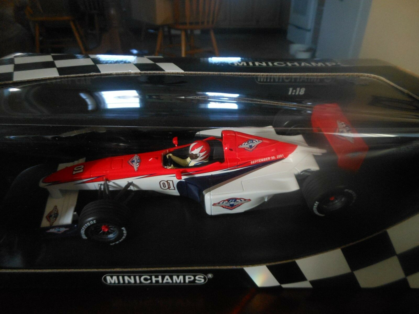 2001 US Grand Prix Event Car Car Car 1 18th scale Minichamps a2fe7a
