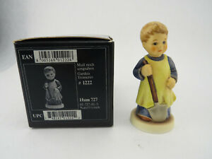 Hummel-Goebel-034-Garden-Treasures-034-727-TMK7-3-5-8-034-Figurine-w-Box