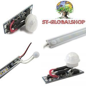 Sensore-movimento-PIR-per-barre-strisce-led-12-24-V-8A-rilevatore-presenza