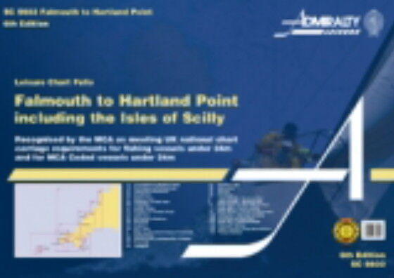 ADMIRALTY SC FOLIO SC5603 FALMOUTH to HARTLAND POINT + ISLES OF SCILLY - NEW2015