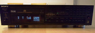 Cd-player & -recorder Herzhaft Sony Cdp-991 High End Cd-player