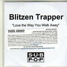 (CI644) Blitzen Trapper, Love the Way You Walk Away - DJ CD
