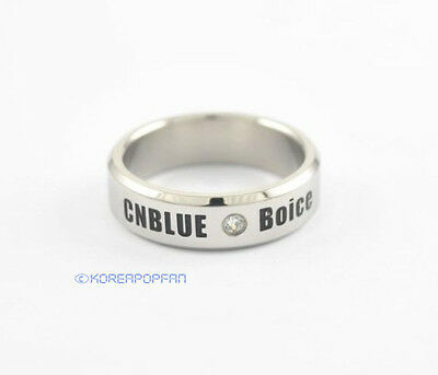 C.N.Blue CNBLUE KPOP STAINLESS STEEL RING NEW FREE SHIPPING