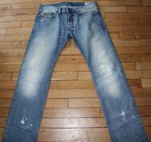 DIESEL-Jeans-pour-Homme-W-32-L-34-Taille-Fr-42-SAFADO-Ref-V079