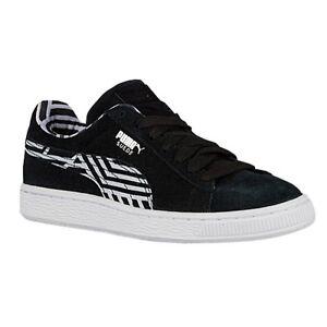 Puma Suede Stripe Black Zebra 36024901