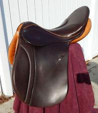 "Custom Stubben Siegfried VSD DL All Purpose saddle 18 1/2 "" Biomex Seat"