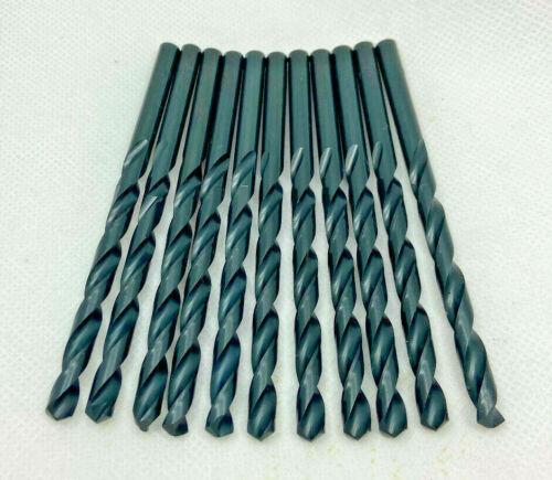 12 PCS Number #60 Heavy Duty Jobber Drill Bit M2 High Speed Steel