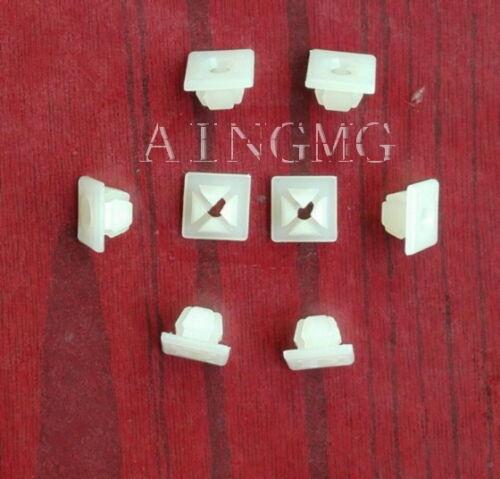 10x Bumper License Plate Nut Bracket Clip Screw Grommet A11719 For GM BPY
