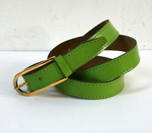 9a3eda33726 ... Ceinture-cuir-vintage-vert-pistache