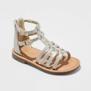 Toddler Girls' Taylor Gladiator Sandals - Cat & Jack Gold