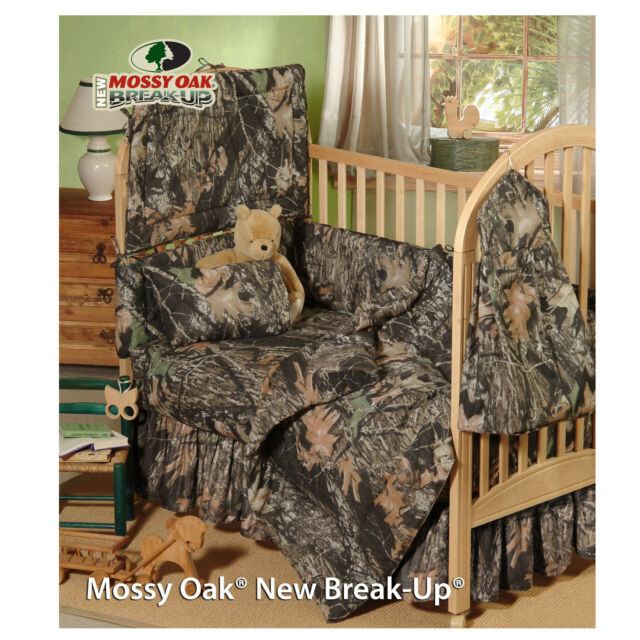 Camo Baby Bedding Sets.Mossy Oak Camo Camouflage Infant Baby Crib Bedding Set 5 Pcs