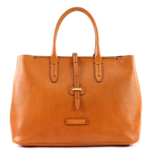The Tracolla Bridge Cognac Borsa Shopper A M ppZBxwv