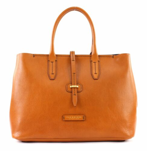 Tracolla Borsa Shopper The M Bridge Cognac A pgtw6x