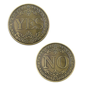 Family-Souvenir-Gifts-Collectible-Yes-or-No-Creative-Bronze-Challenge-Coin