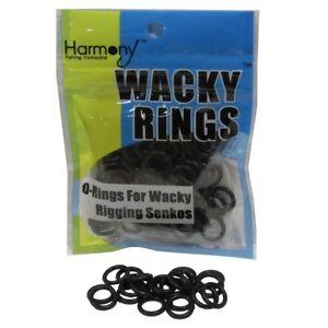 Wacky-Rings-O-Rings-For-Wacky-Rigging-Senko-Worms-100-O-Rings-for-6-034-Senko