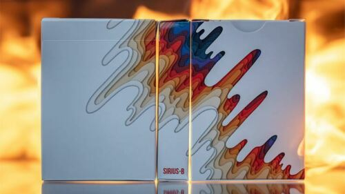 Limited Sirius B V2 Playing Cards by Riffle Shuffle