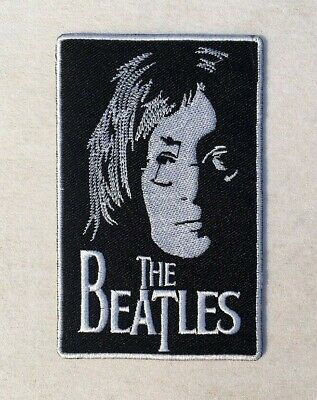 The Beatles Patch John Lennon Music Band Rock Logo Embroidered Iron On Patches