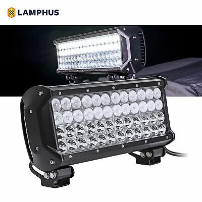 "LAMPHUS CRUIZER 12/"" 144W Spot//Flood Off Road LED Light Bar Truck Roof ATV"