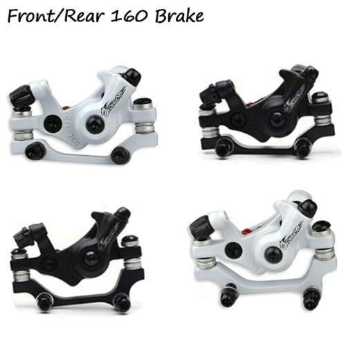 MTB Bike Mechanical Disc Brakes Caliper 160//180mm Rotor Disc Brake Rotor 6 Bolts