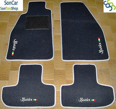 4 Block.....1 ALFA ROMEO SPIDER 916 1995-2006 Tappeti AUTO Decori Tappetini