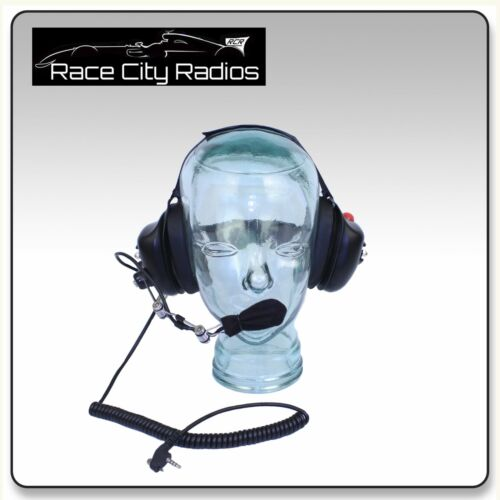 Racing Headset BTH Behind the Head w// VERTEX Cord Radios Electronics