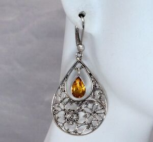 BaliBeauti-Genuine-Pear-Shaped-Stone-and-Sterling-Silver-Dangle-Earrings