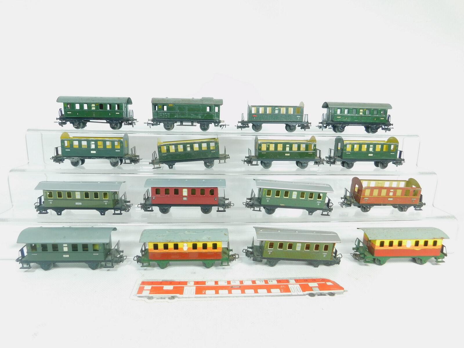 Bm473-2x Bm473-2x Bm473-2x Märklin H0 AC bastler-blech-personenwagen 327+328+4000 ecc. 76cbc8