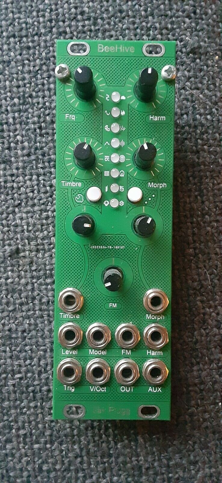 Erica Pico VCO Eurorack Synth Module Bundle w//Cable and Cloth