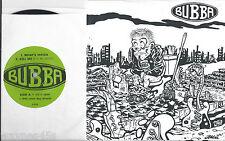 BUBBA * 45 * Laura's New Car +3 Songs EP * 1993 * MINT w/ PS * Portland, Oregon